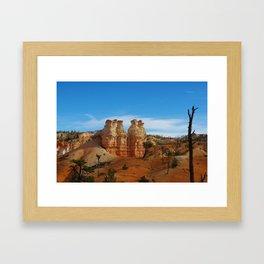 """Committee of pondering rock giants"" Framed Art Print"