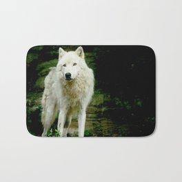 Grey Wolf Bath Mat