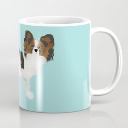 papillon farting dog cute funny dog gifts pure breed dogs Coffee Mug