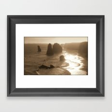 Our Planet's Evoloution Framed Art Print