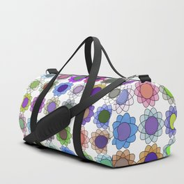 Pop art flowers Duffle Bag