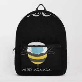 Funny Halloween Boo Bees Backpack