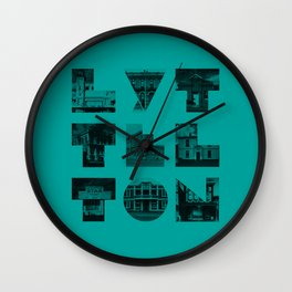 Missing buildings of Lyttelton Wall Clock
