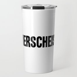 Stierscheisse | German Bullshit - Logotype Travel Mug