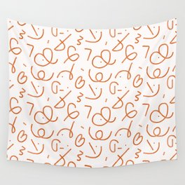 doodles Wall Tapestry