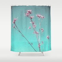alone Shower Curtains featuring Alone by Cassia Beck