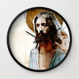 Shalom Aleichem/Peace Be With You Wall Clock