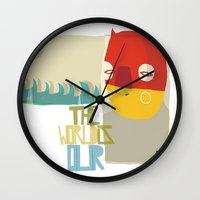 heroes Wall Clocks featuring heroes by smaomao