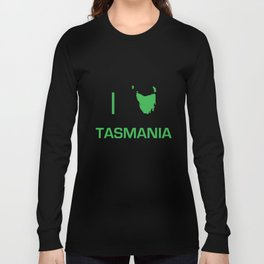 I heart Tasmania Long Sleeve T-shirt