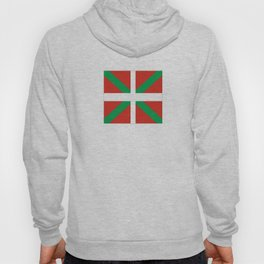 Flag of Euskal Herria-Basque,Pays basque,Vasconia,pais vasco,Bayonne,Dax,Navarre,Bilbao,Pelote,spain Hoody