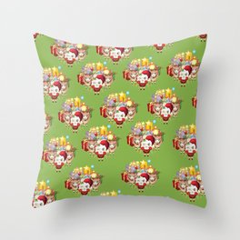 Christmas Sheeping Throw Pillow