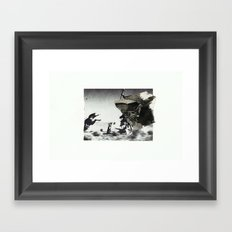 Hail  Framed Art Print