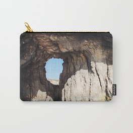 Hole in a Cave Carry-All Pouch