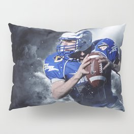Football Fight Night Pillow Sham