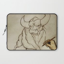 Bull Fight Laptop Sleeve