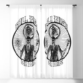 D20 Reaper - Roll High or Die d&d - Dungeons & Dragons Blackout Curtain