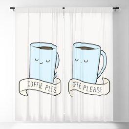 Coffee Please Blackout Curtain