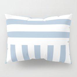 Powder Blue Direct Stripe Pillow Sham