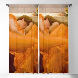 Flaming June, ‎Frederic Leighton Blackout Curtain
