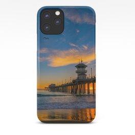 Huntington Beach Seagull Sunset iPhone Case