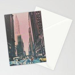 New York City Street, Chrysler Building Stationery Cards