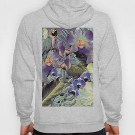 Mauve Orchid Tropical Hoody