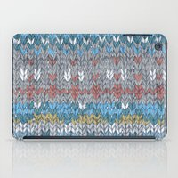 knitting iPad Cases featuring KNITTING #4 by NADEZDA FAVA