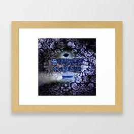 """""""Black Rose"""" Game Title Framed Art Print"""