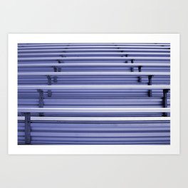 Bleachers Art Print