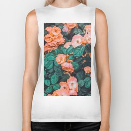 Vintage Blossom || #photography #nature #digitalart Biker Tank