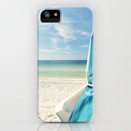 Beach Umbrella iPhone Case