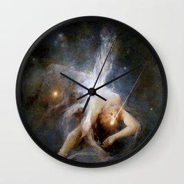 "Witold Pruszkowski ""Falling star"" Wall Clock"