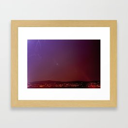 Soothing Storm Framed Art Print