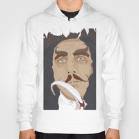captain hook Hoodies featuring HOOK by Itxaso Beistegui Illustrations