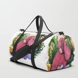 Flamingo Duffle Bag