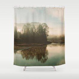 Calm Lake Shower Curtain