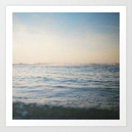 Sinking in Thin Air Art Print
