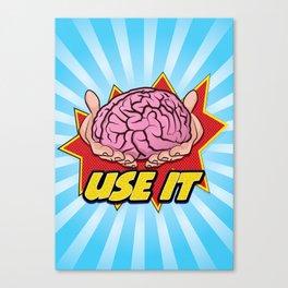USE-IT Canvas Print