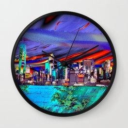voyage de ny Wall Clock