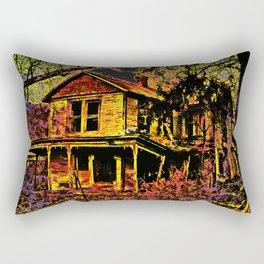 Happy Haunted House Rectangular Pillow