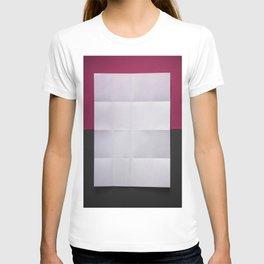 White paper T-shirt
