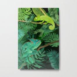 Chameleons Metal Print