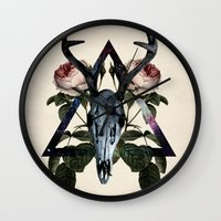 constellation Wall Clocks featuring Constellation by Lauren Spooner