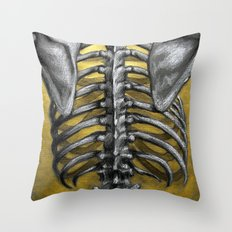 Gilded Cage Throw Pillow
