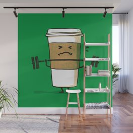 Strong Coffee Wall Mural
