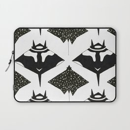 mantas and spotted eagle rays Laptop Sleeve