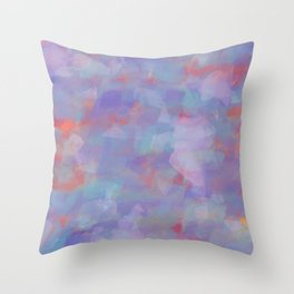 Paint Strokes One Throw Pillow