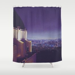 Observing the City Shower Curtain