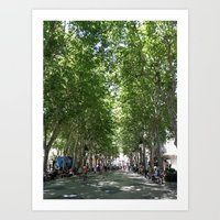 spain Art Prints featuring Spain by stylebymercedes