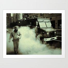 New York Steam Art Print